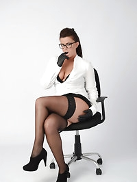 Office Secretary Leanne makes a note of your exact needs,..