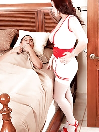 The Cream-Filled Busty Nurse