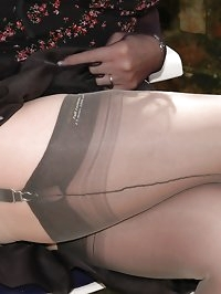 orgasmic toy play in nylons and hose soft