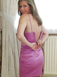 elegant milf in nylon