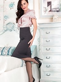 Sophia is a lady in control. Her body, her lingerie, her..