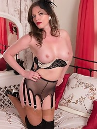 Holly is in a rare submissive mood here, offering her..