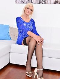 Czech cougar Roxana Hanova is 58 and still hot as hell...