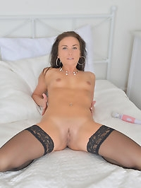 Horny housewife Niki Sweet may start this evening dressed..