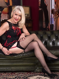 When 64 year old UK gilf Margaret Holt is ready to get..