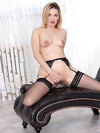 Lush Russian Jessica Spielberg has a model perfect body..