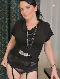 35 year old Stacy Ray is a short girl with huge tits and a..