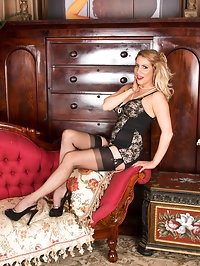 30 year old Patricia Forbes looks lovely in a classy..