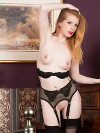 Redhead Nicole Hart is a true Irish beauty complete with..