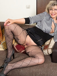Thick granny Angel Baby is a 49 year old Russian cougar..