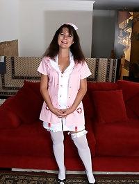 Sexy nurse Sherry Lee