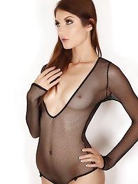 Alluring Vixen Alea shows off her perfect body in a sexy..