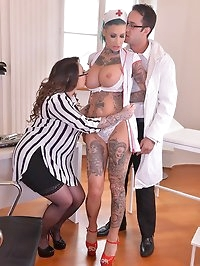 Tattooed Nurses Gone Wild - Humiliation in The..