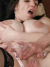 Big tits Josephine gets her cunt slammed
