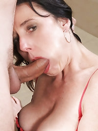 Check out Karen Kougar swollen hot pussy as it is..