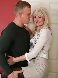 British housewife getting her groove on with her lover