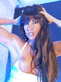Blue Stripper