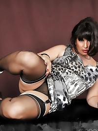 Amanda in wild lingerie