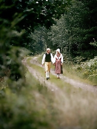 Couple on a hike get frisky and fuck hardcore