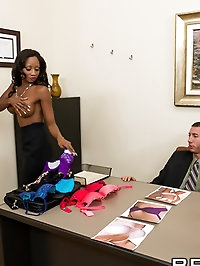 Diamond Jackson Pictures in Give Me Your Breast Offer