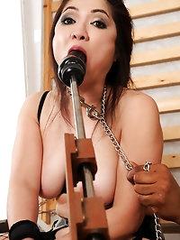 Midori Tanakas holes double fucked