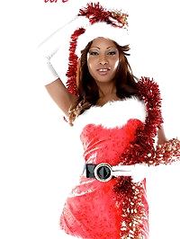 Perfect Cuban & busty babe Katia De Lys: miss Santa..