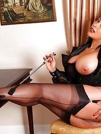 Mistress Danica cracks the whip