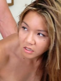 Sexy foreign girl shows one lucky cock how horny she can get