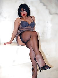 Yummy woman in sexy lingerie
